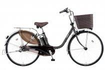 電動アシスト自転車「ビビ・DX」マットディープグレー(N)