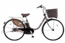 電動アシスト自転車「ビビ・DX」カッパーメタリック(T3)