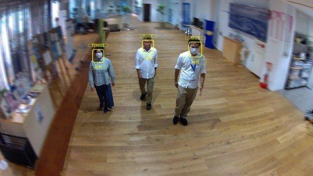業界初、Vieureka来客分析サービスにマスク装着のままでも属性推定が可能な機能を開発