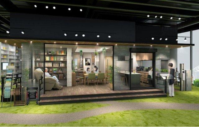 【パナソニックセンター大阪】住空間展示「健康にくらし続けられる家」オープン。ずっと自分らしさを大切に、人生を豊かに過ごす住空間を提案。