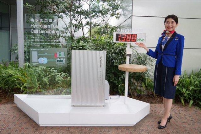 パナソニックセンター東京で純水素型燃料電池の実証を開始