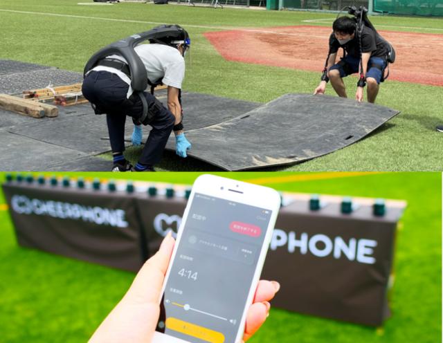 「Santen IBSA ブラインドサッカーワールドグランプリ 2021 in品川」に技術協力