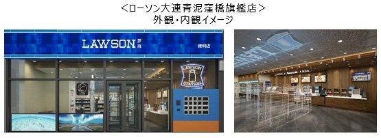 ローソンとパナソニック、アフターコロナ、SDGsに対応した最新型店舗を中国大連に開店
