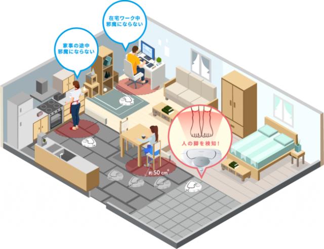 ロボット掃除機「RULO(ルーロ)」の本体ソフトウェアをアップデート「在宅掃除モード」と「音声プッシュ通知」機能が使用可能に