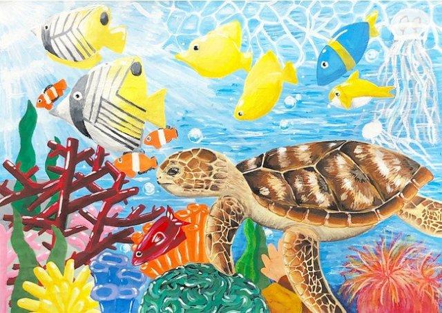 「きれいな空気・水と生きもの」をテーマにした「第16回環境絵画コンクール」の優秀作品が決定【パナソニック エコシステムズ】