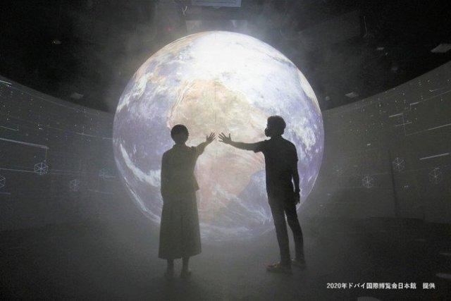 極微細ミストを用いた空間演出でドバイ国際博覧会日本館の展示に貢献