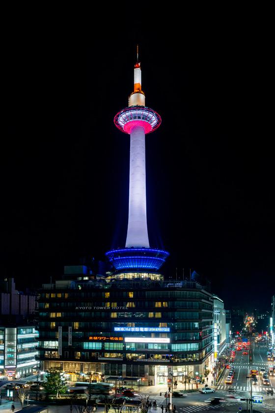 京都 タワー ライト アップ