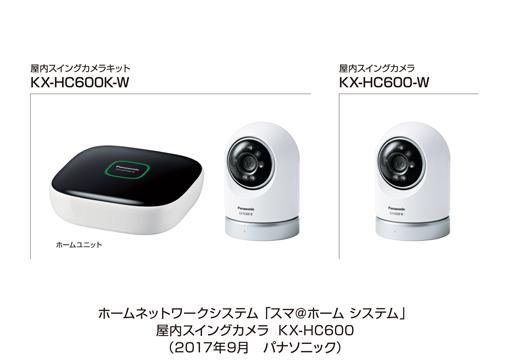 ホームネットワークシステム「スマ@ホーム システム」 屋内スイングカメラ KX-HC600