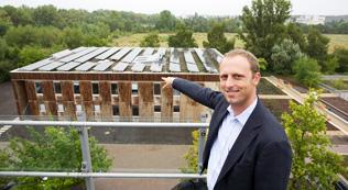 エコ先進国ドイツの連邦環境庁「ゼロエネルギーハウス」で採用される太陽電池モジュール「HIT」
