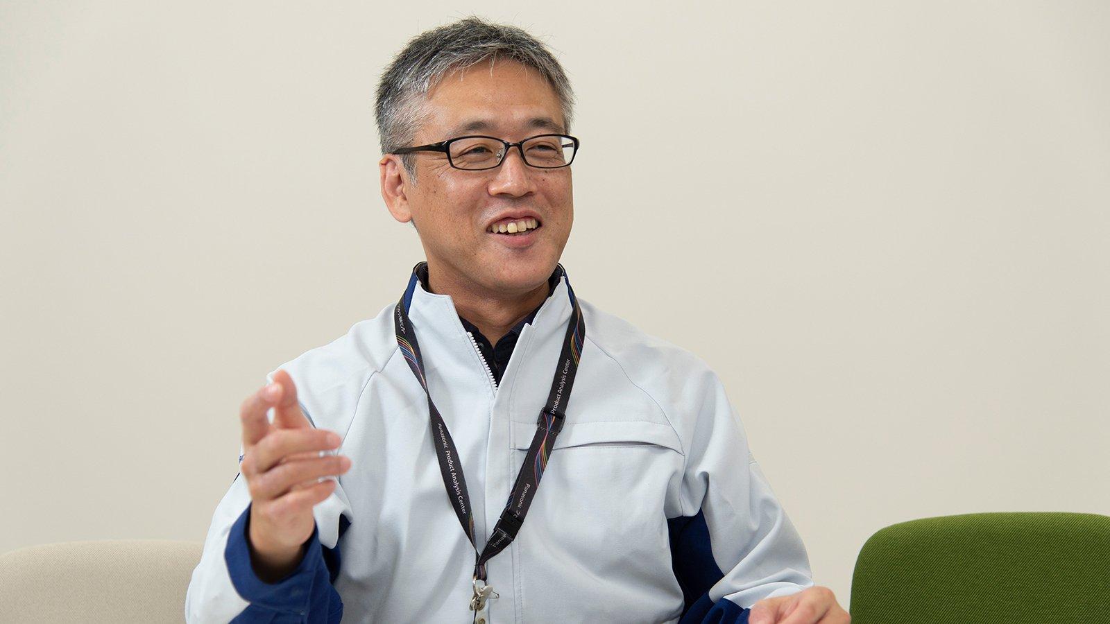 写真:パナソニック株式会社 プロダクト解析センター ユーザビリティソリューション部 UX解析課 野田 聡