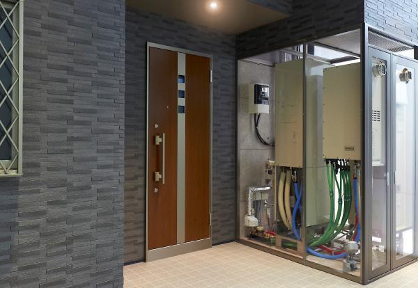 写真:家庭用燃料電池コージェネレーションシステム「エネファーム」(参考写真)