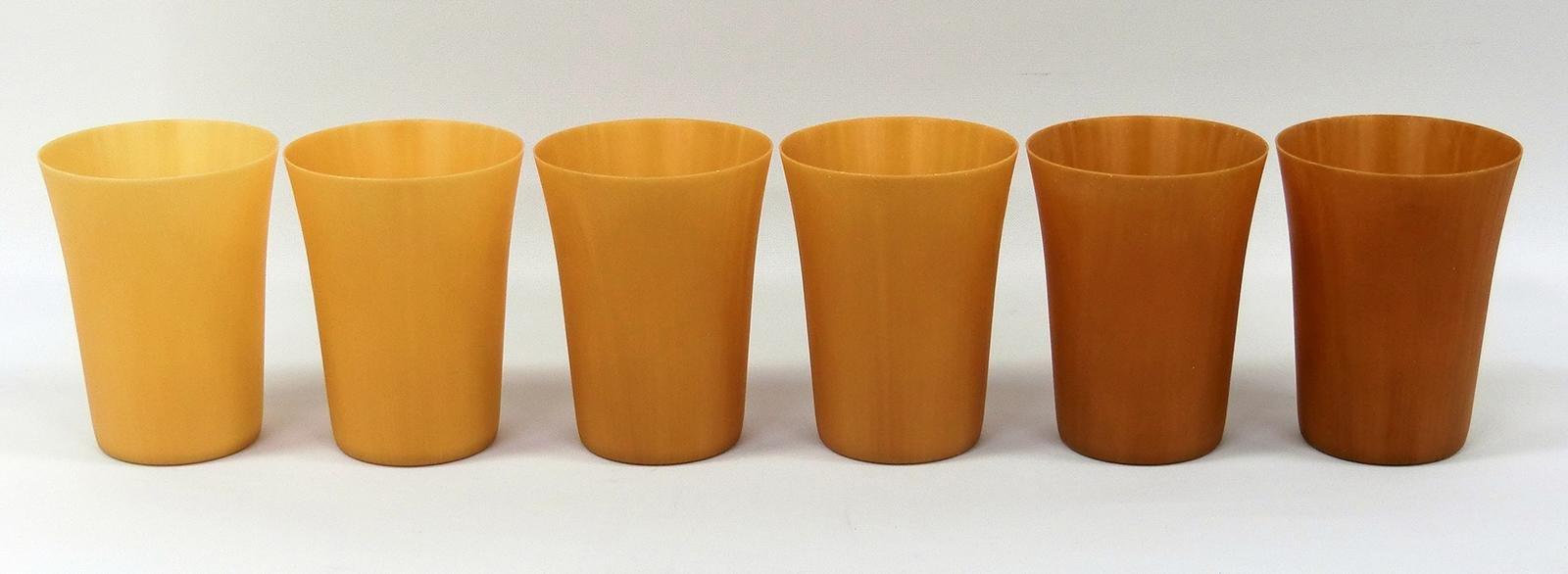 写真:高濃度セルロースファイバー成形材料を活用したリユースカップ
