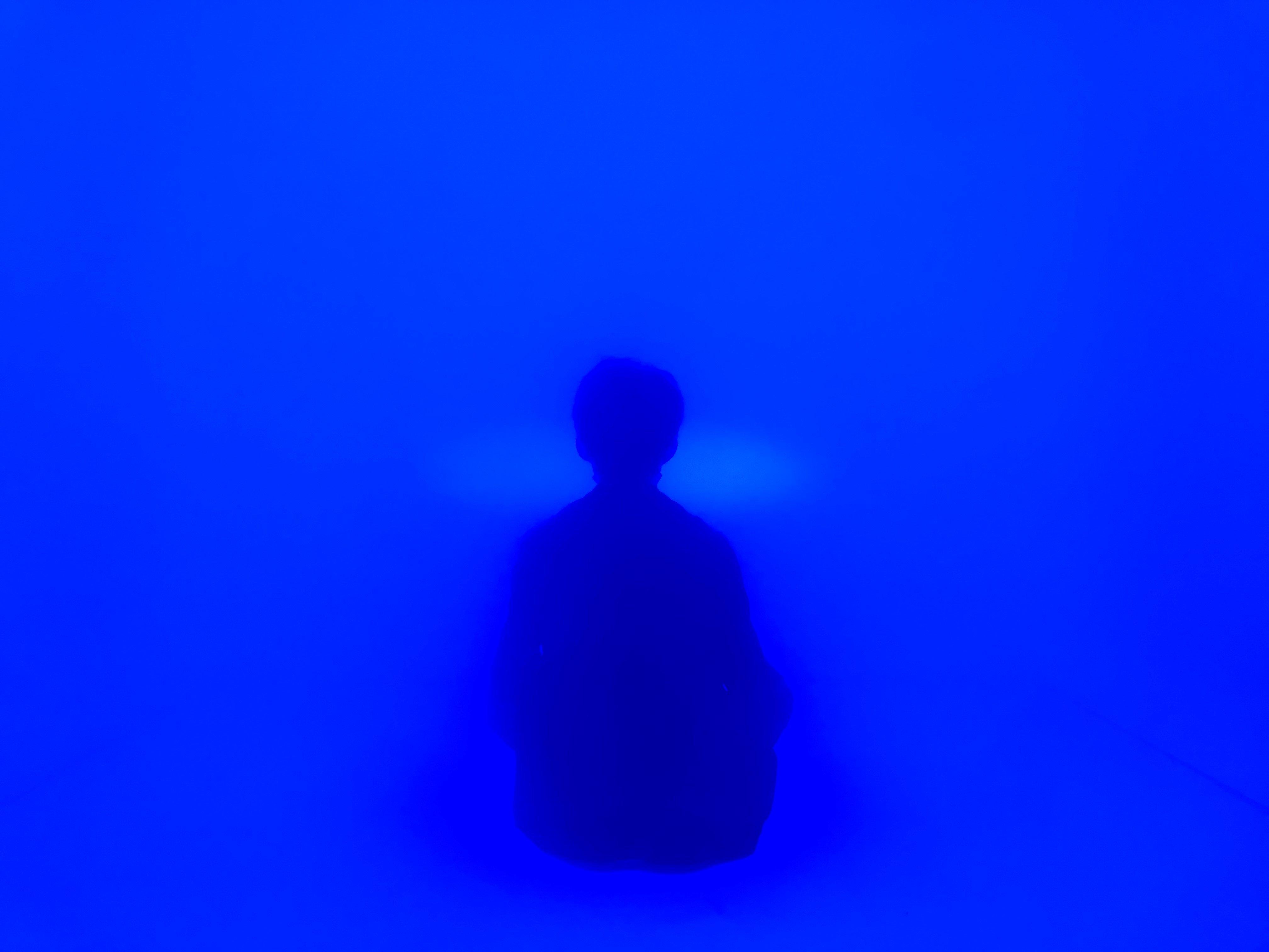 「(MU)ROOM」での瞑想(イメージ)