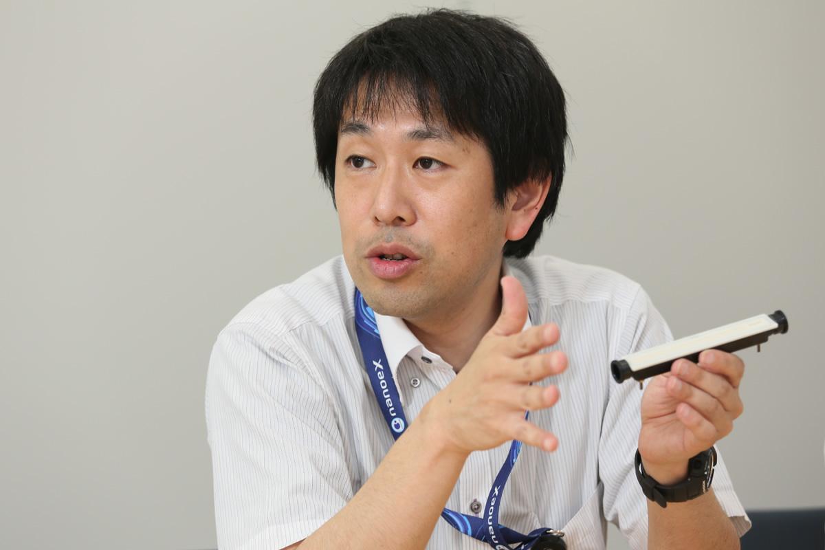 写真:パナソニック株式会社 アプライアンス社 ビューティ・リビング事業部 課長 山口 友宏