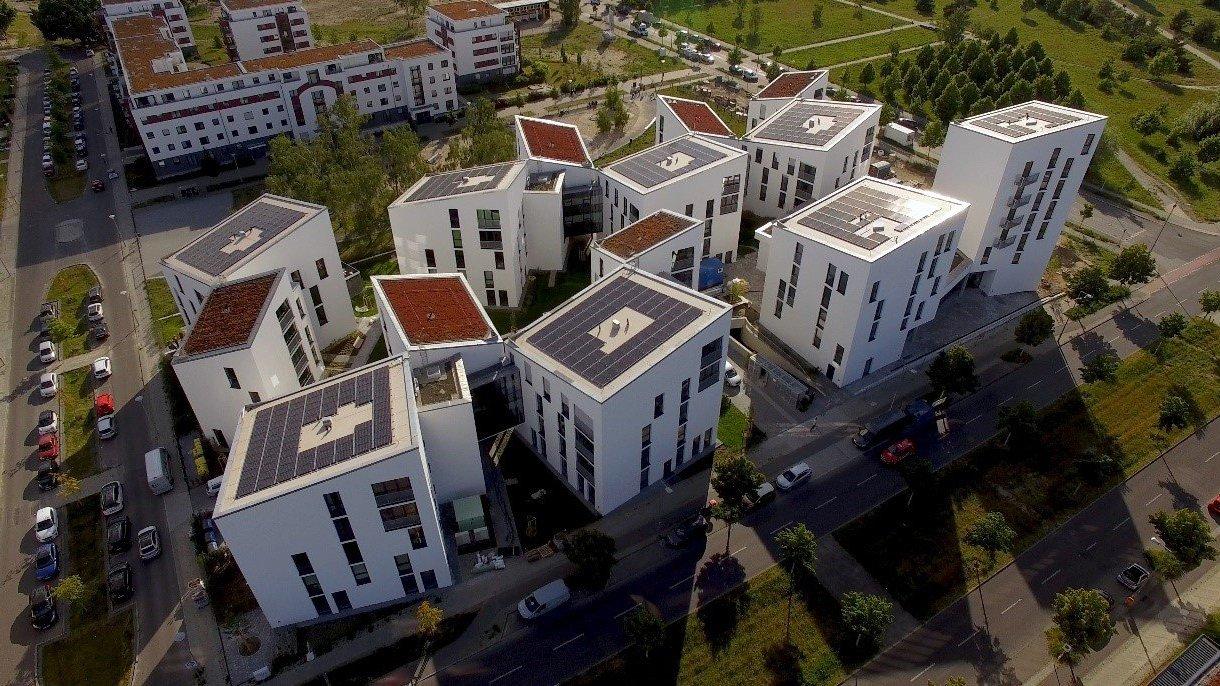 写真:街の俯瞰