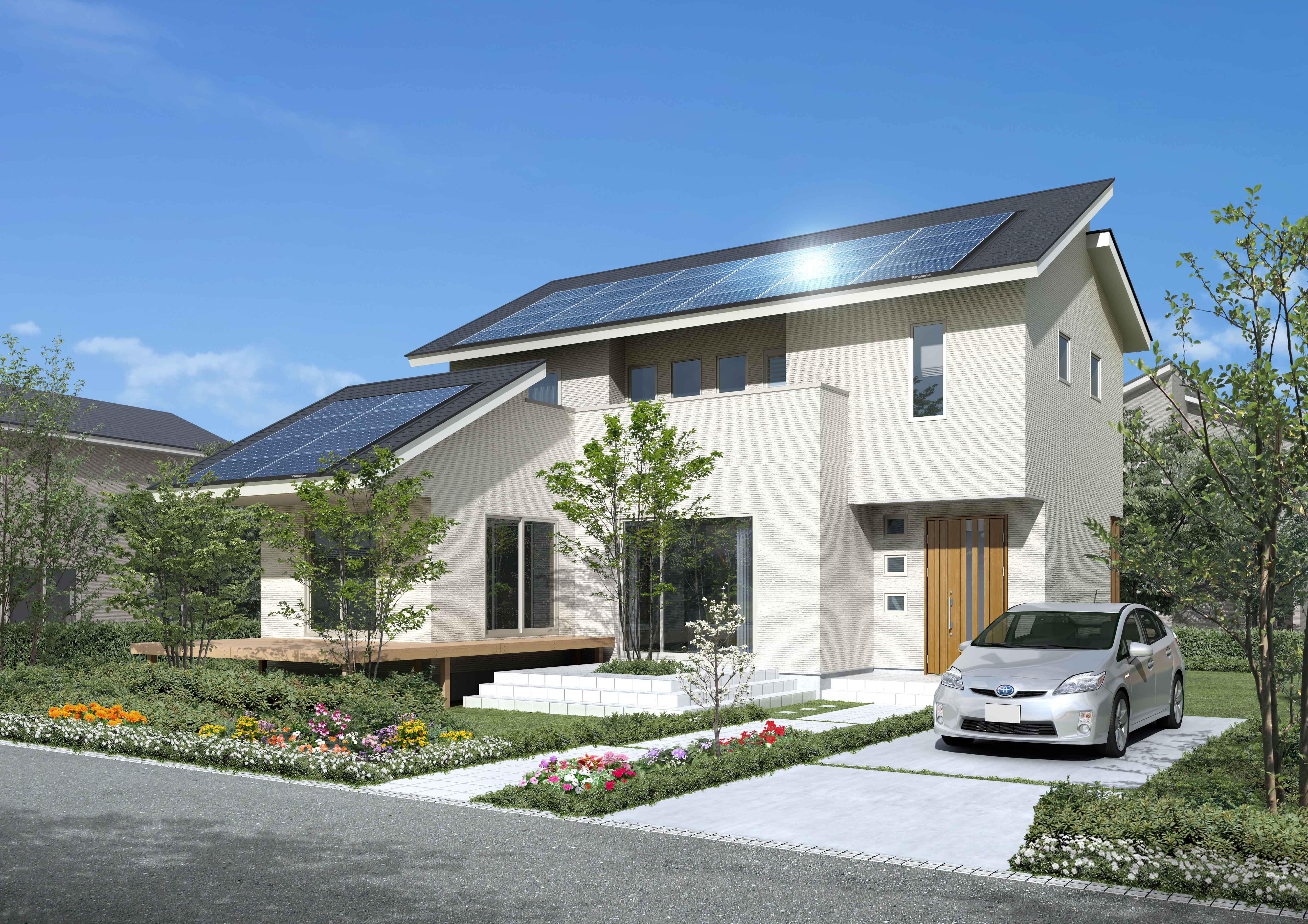 Modern House Interior パナソニック独自の耐震住宅工法「テクノストラクチャー」販売累計棟数40 000棟を達成 トピックス
