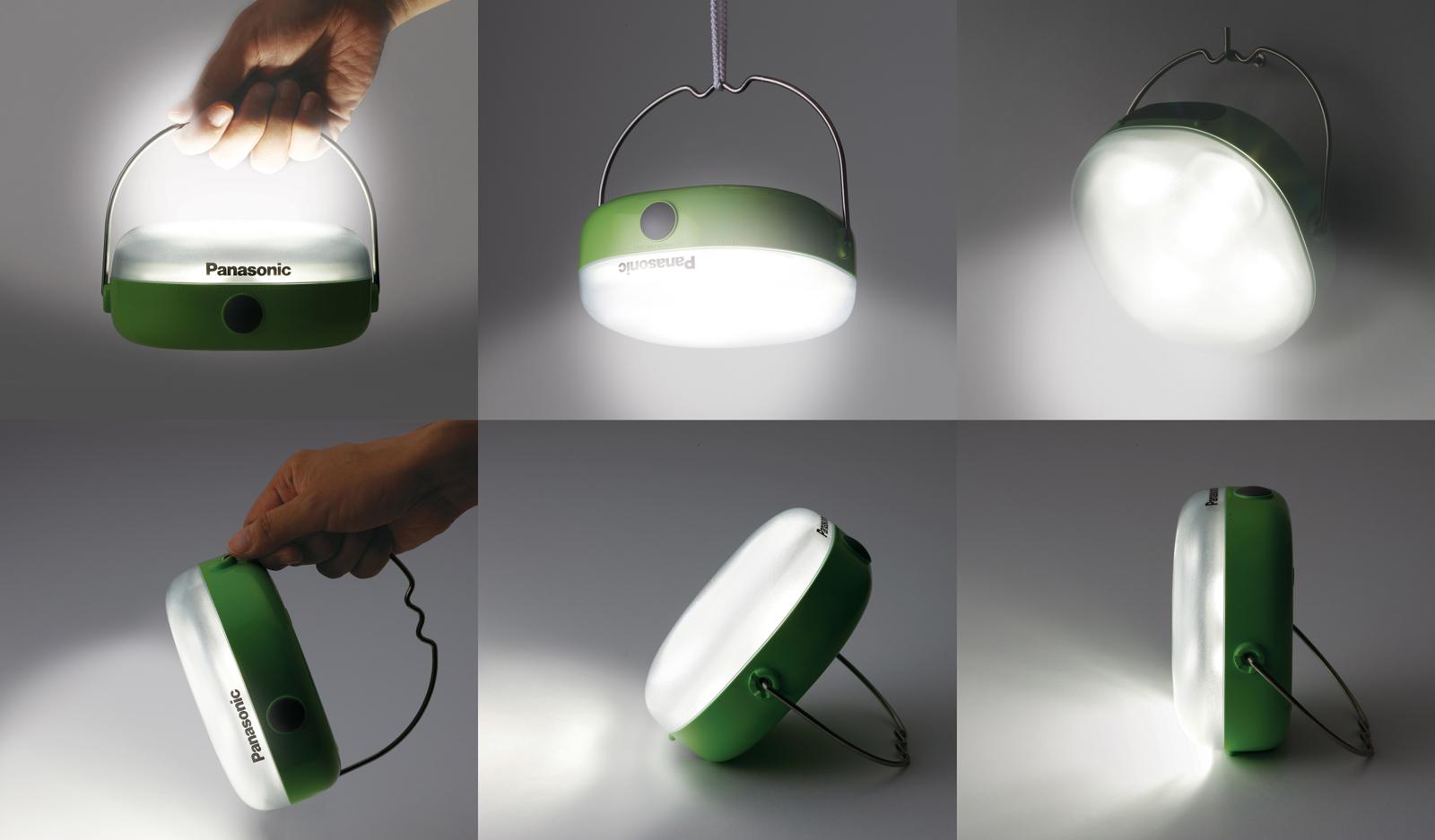 無電化地域の生活照明として活躍する「ソーラーランタン」を発売~約6時間 ※1 で充電でき、360度照らせる