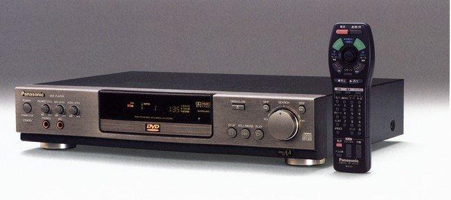 商品写真:DVDプレーヤ1号機「DVD-A300」
