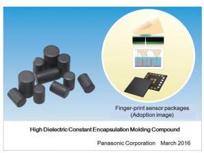 Panasonic Commercializes a High Dielectric Constant Encapsulation Molding Compound Suitable for Finger-Print Sensor Packages