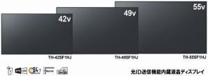 可視光通信技術「光ID」送信機能内蔵ディスプレイを発売
