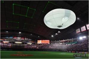 スポーツ、イベント演出用ドローンシステム