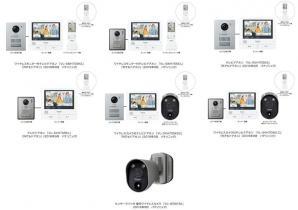 テレビドアホン「外でもドアホン」 VL-SWH705/SVH705シリーズを発売