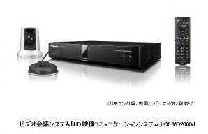 ビデオ会議システム「HD映像コミュニケーションシステム」KX-VC2000Jを発売