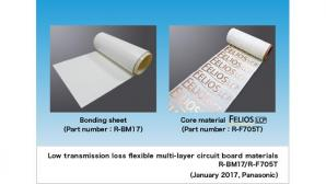 Panasonic Commercializes Low Transmission Loss Flexible Multi-layer Circuit Board Materials
