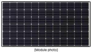Panasonic HIT(R) Solar Module Achieved World's Highest Output Temperature Coefficient at -0.258%/°C