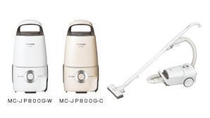 家庭用紙パック式掃除機 「MC-JP800G」を発売