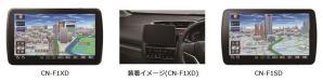 9V型大画面SDカーナビステーション Strada 2機種を発売