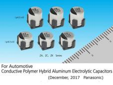 For Automotive Conductive-Polymer Hybrid Aluminum Electrolytic Capacitors