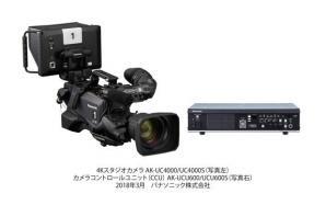 UHD 12G-SDI出力やHDハイスピード撮影に対応した大判4.4Kセンサー搭載の4KスタジオカメラAK-UC4000シリーズを発売