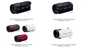 デジタル4Kビデオカメラ HC-WXF1M/WZXF1M他、全8機種を発売