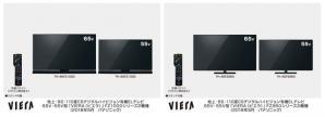 4K有機ELビエラ FZ1000/FZ950シリーズ 4機種を発売