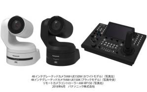 4K/60p出力対応の回転台一体型4Kインテグレーテッドカメラと、大型タッチパネル式モニター搭載のリモートカメラコントローラーを開発