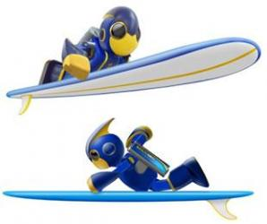乾電池を動力としたロボットがギネス世界記録(R)「世界最長遠泳」に挑戦