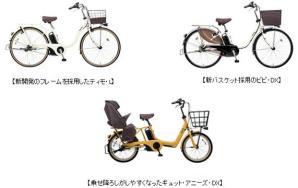 電動アシスト自転車2019年モデル全12車種を発売