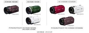 デジタル4Kビデオカメラ HC-WX2M/WZX2M他、全6機種を発売