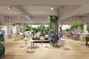 未来のオフィス空間『point 0 marunouchi』において実証実験を開始