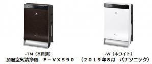 加湿空気清浄機 F-VXS90を発売