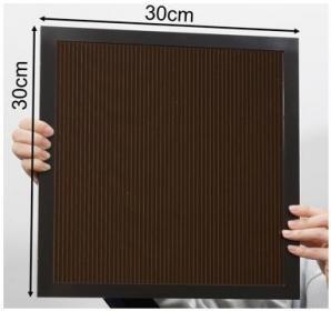 ペロブスカイト太陽電池大面積モジュールで世界最高変換効率16.09%を達成
