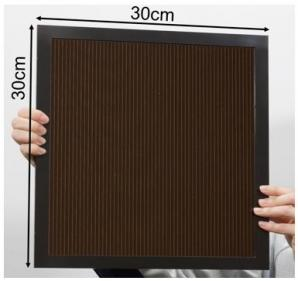 Japan's NEDO and Panasonic Achieve the World's Highest Conversion Efficiency of 16.09% for Largest-area Perovskite Solar Cell Module