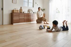 抗ウイルス加工を施した床材3タイプを発売