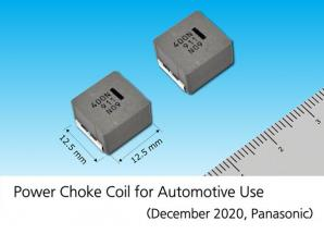 Panasonic Commercializes a Power Choke Coil Using Low-loss Magnetic Materials for Automotive Use