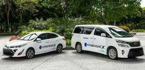 Grabのプレミアム車両で「ナノイー X」による快適な移動空間を提供