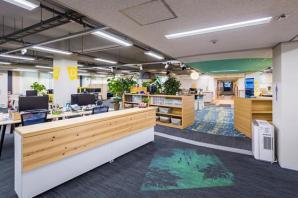 システムソリューション開発センターのオフィスが、「WELL v2」ゴールド認証を取得