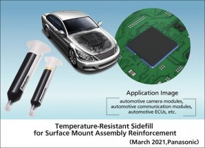 Panasonic Commercializes Temperature-Resistant Sidefill for Surface Mount Assembly Reinforcement