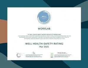 パナソニック東京汐留ビル ライブオフィス「worXlab(ワークスラボ)」WELL Health-Safety Rating取得