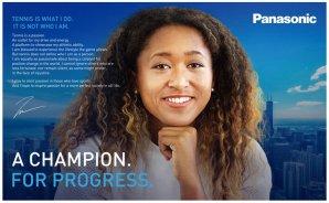 Panasonic Announces Signing of Professional Women's Tennis Player Naomi Osaka as Brand Ambassador